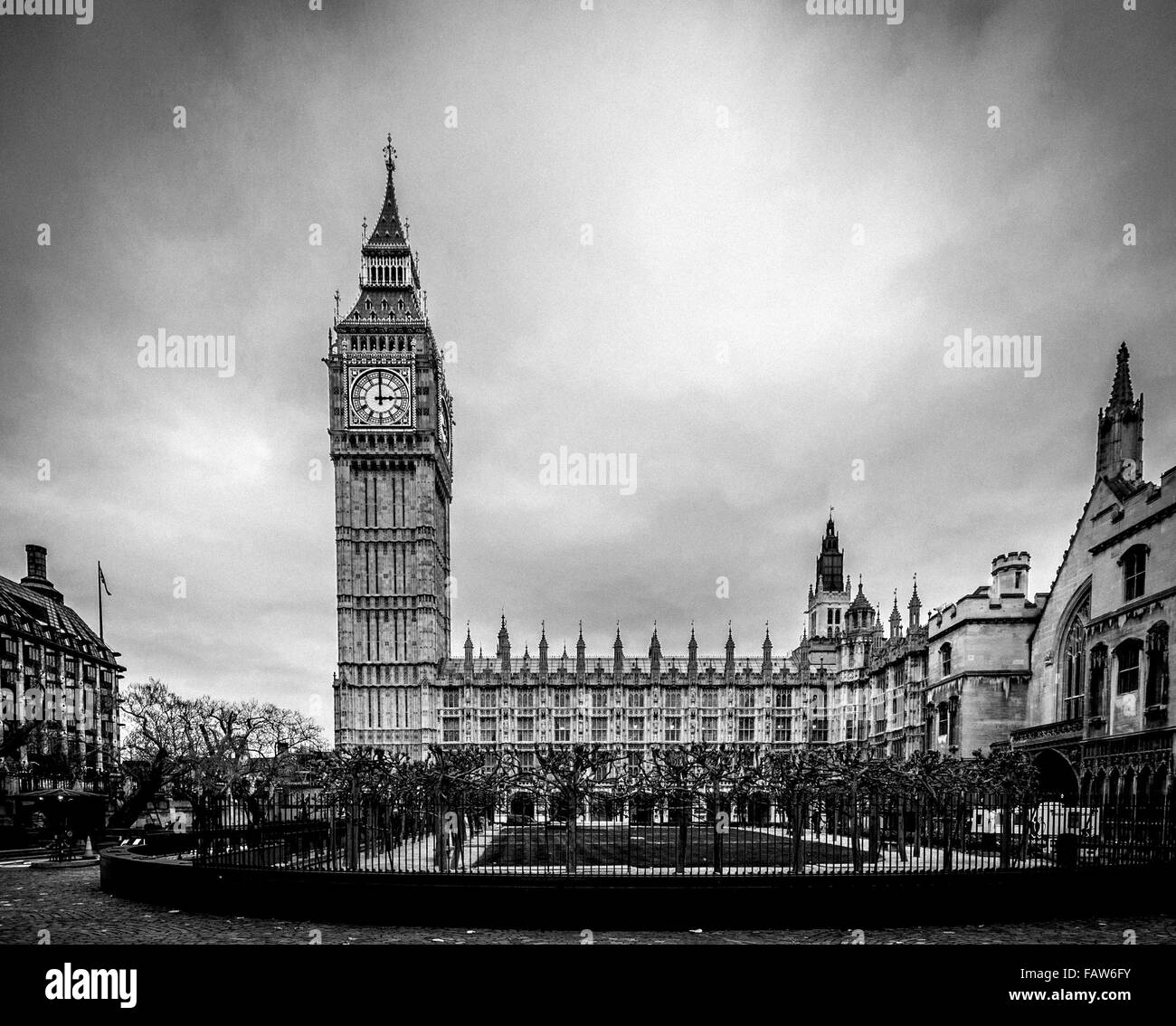 Big Ben and the Houses of Parliament, London, UK. - Stock Image