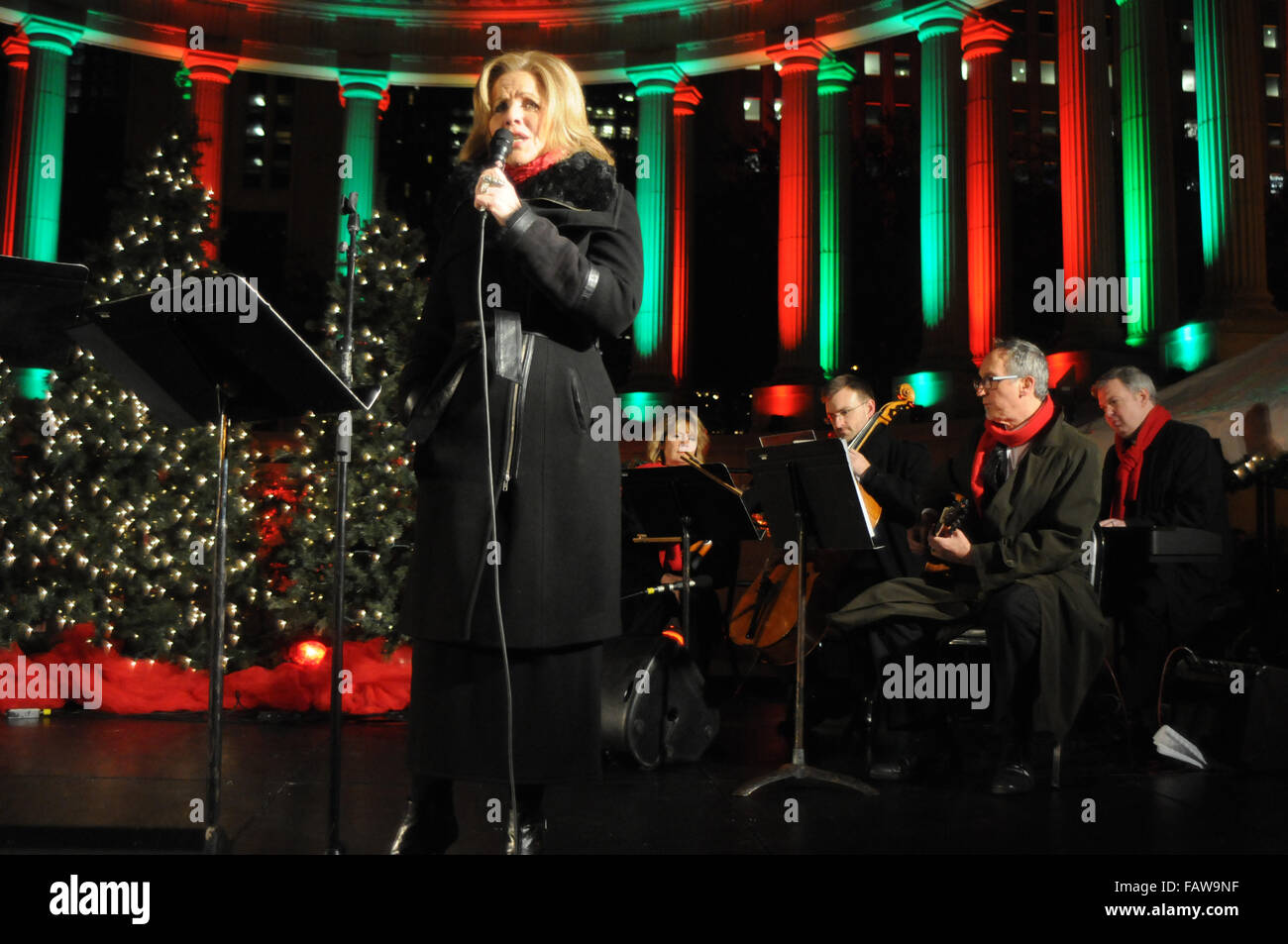 102nd Annual Chicago Christmas Tree Lighting Ceremony at Millennium Park Featuring Renee Fleming Where Chicago Illinois United States When 24 Nov 2015 & 102nd Annual Chicago Christmas Tree Lighting Ceremony at Millennium ...