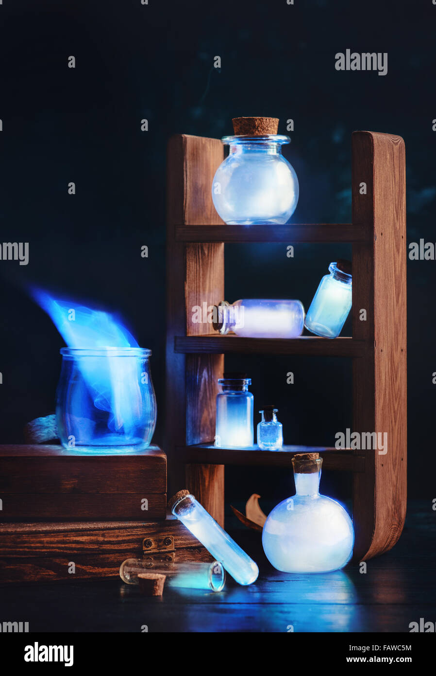 Glowing memories - Stock Image