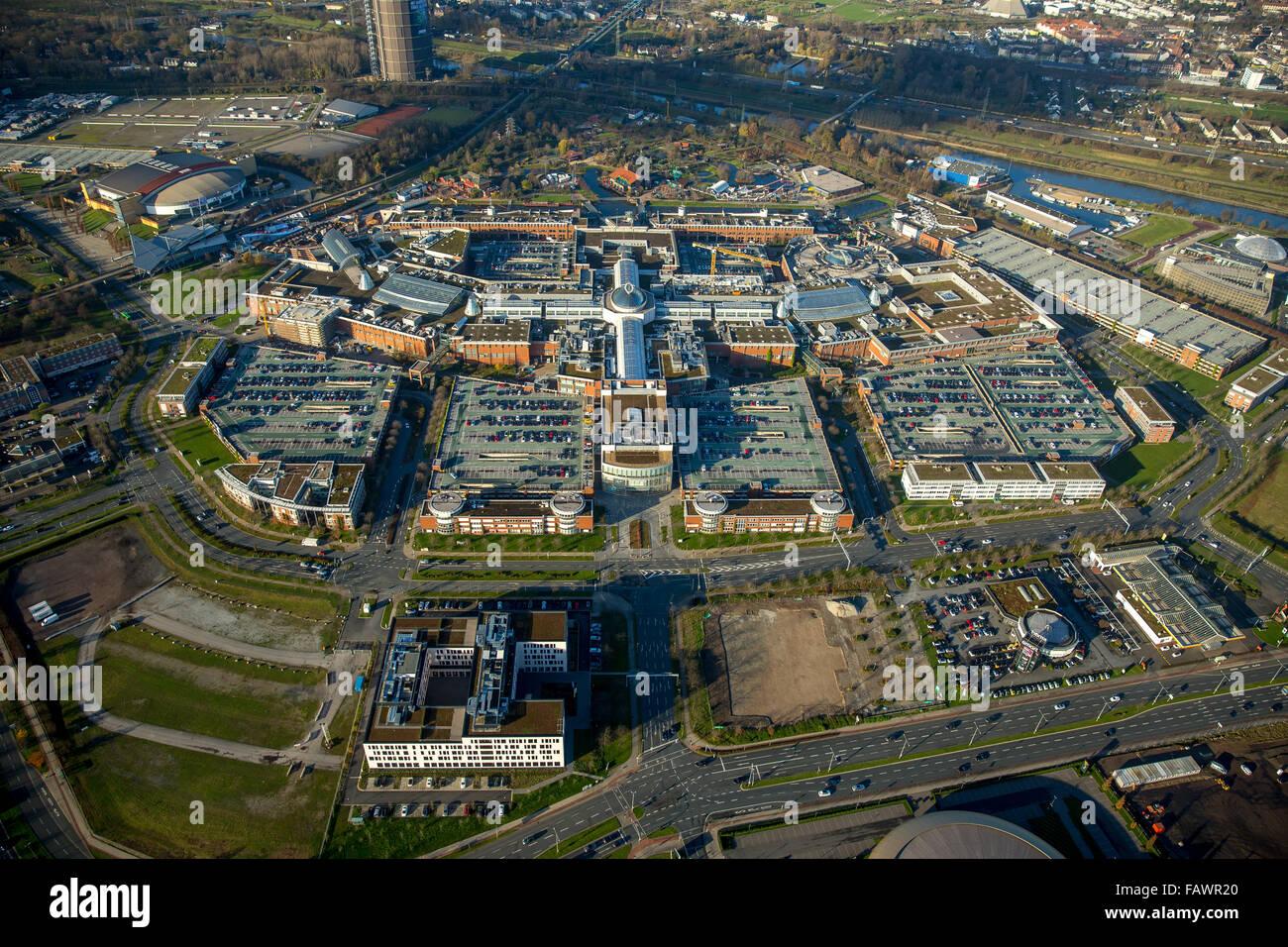 Shopping center, Centro Oberhausen, Oberhausen, Ruhr district, North Rhine-Westphalia, Germany - Stock Image