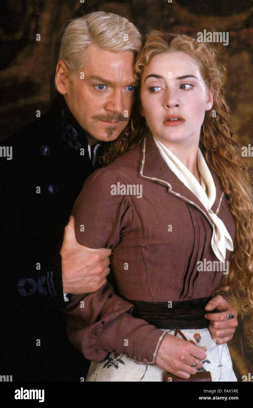 HAMLET  1996 Warner Bros film with Kate Winslett as Ophelia and Kenneth Branagh - Stock Image