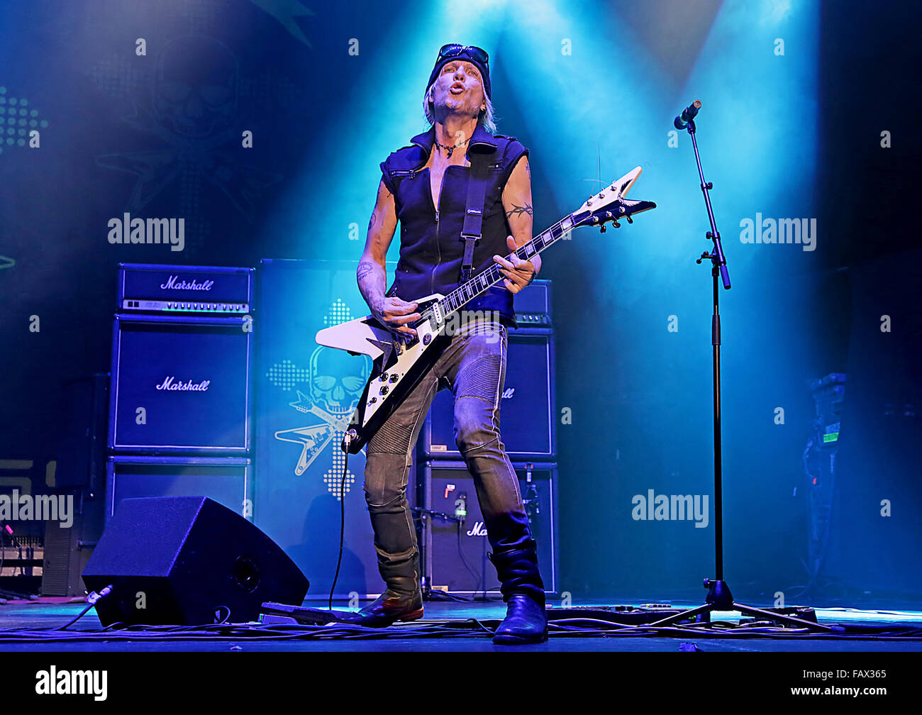 Michael Schenker Group Performing At Manchester O2 Apollo
