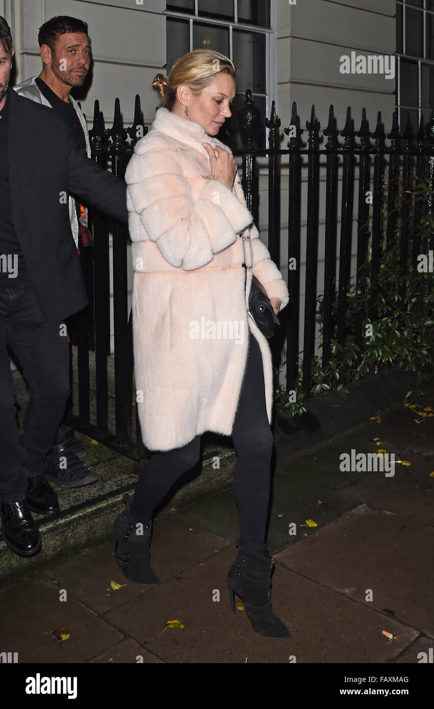 Kate Moss And Naomi Campbell Seen Leaving Madonna S House In London Stock Photo Alamy