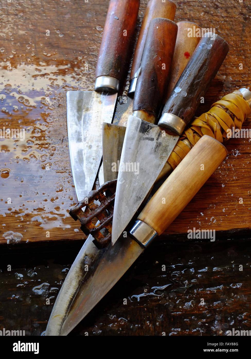 knifes - Stock Image