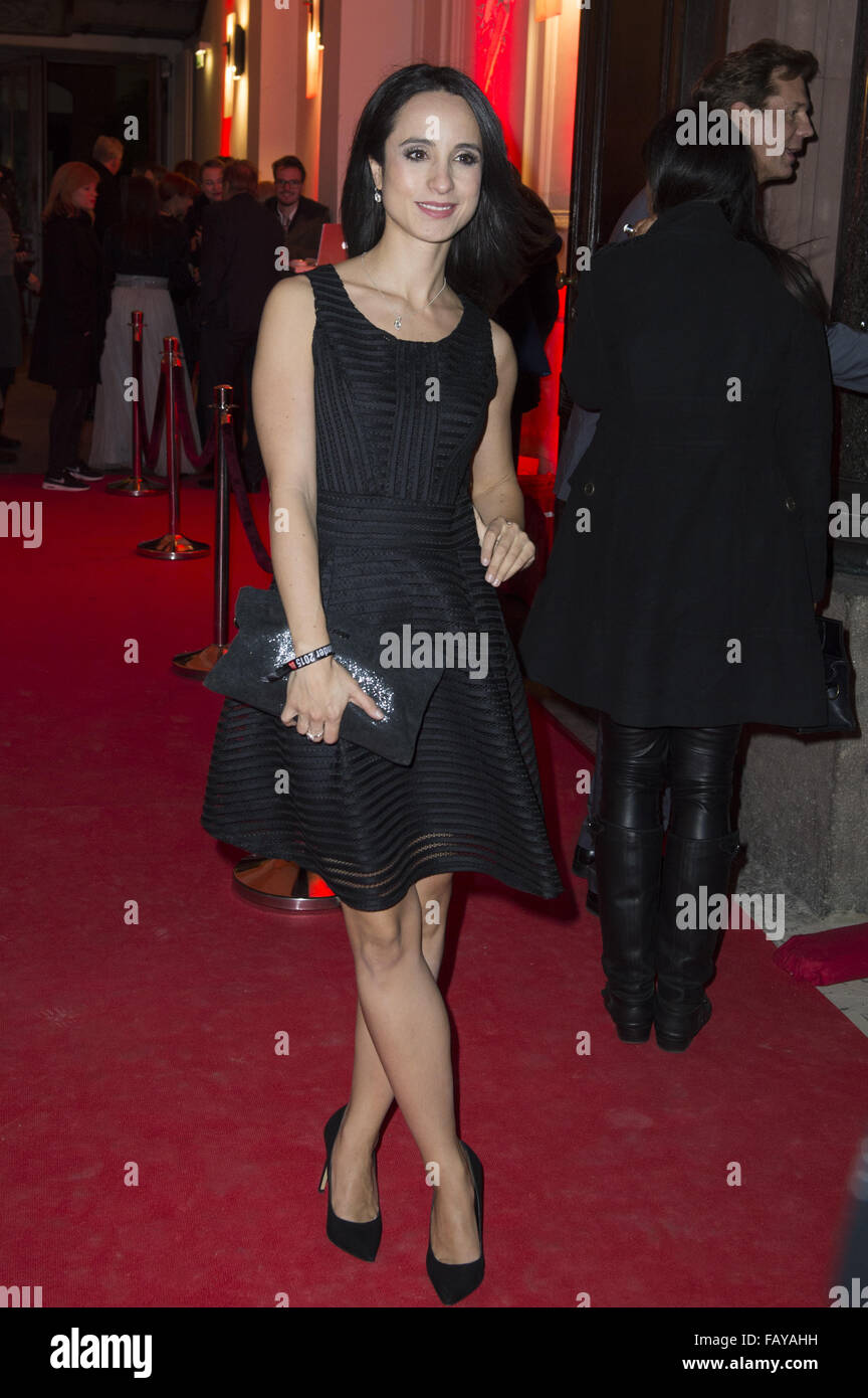 Celebrities attend the Ein Herz für Kinder Gala 2015 - After Show Party Arrivals  Featuring: Stephanie Stumpf Where: Stock Photo