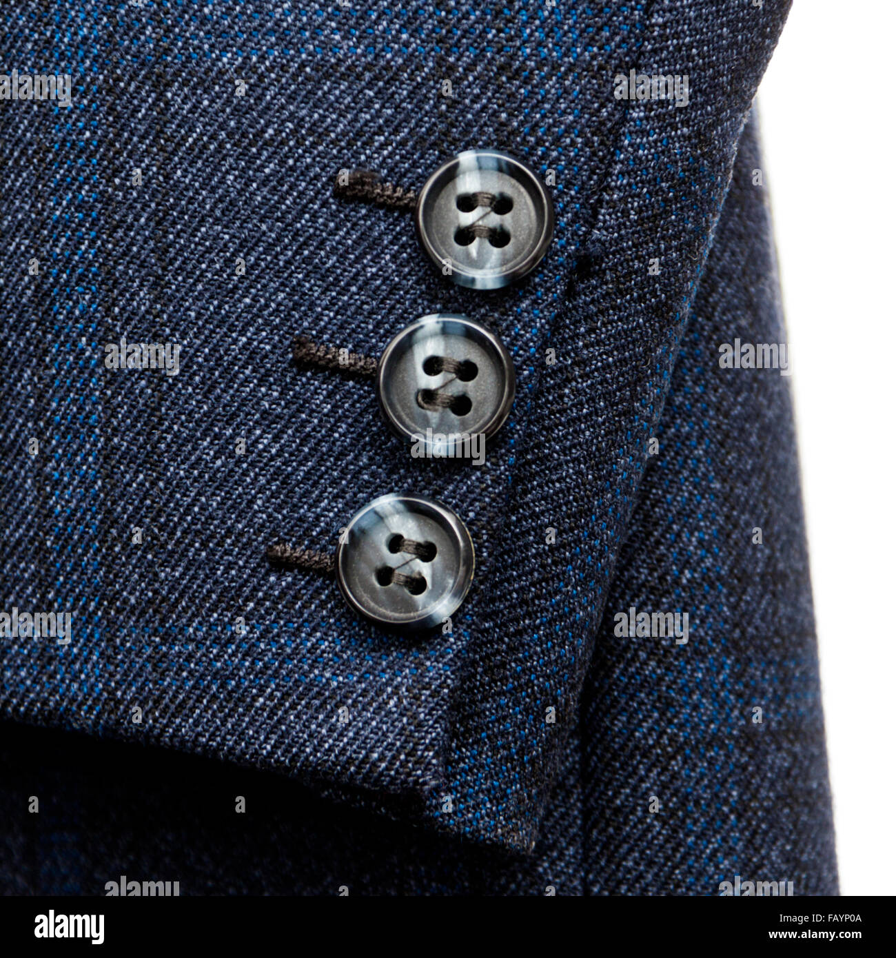 Vintage British tailored jacket by Trent English Tailoring - Stock Image