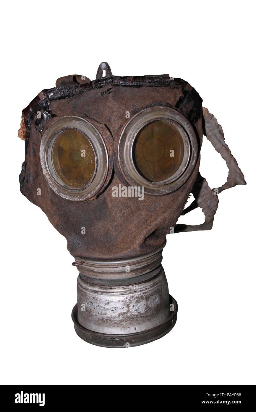 German Model 1917 Gas Mask - Stock Image