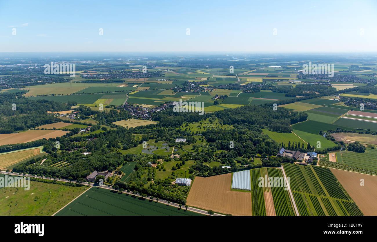 Abraham BAu architect Raimund Abraham, aerial view, project by Karl-Heinrich Müller, art collector, Langen Foundation,