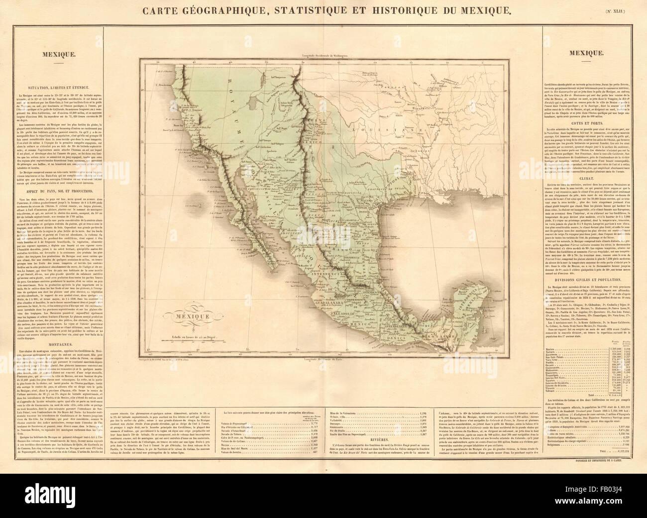 mexico inc texas california western united states buchon 1825