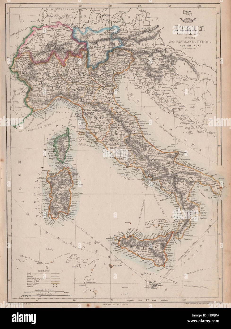 Italy switzerland tyrol alps italian unificationwerdispatch italy switzerland tyrol alps italian unificationwerdispatch atlas 1862 map gumiabroncs Choice Image