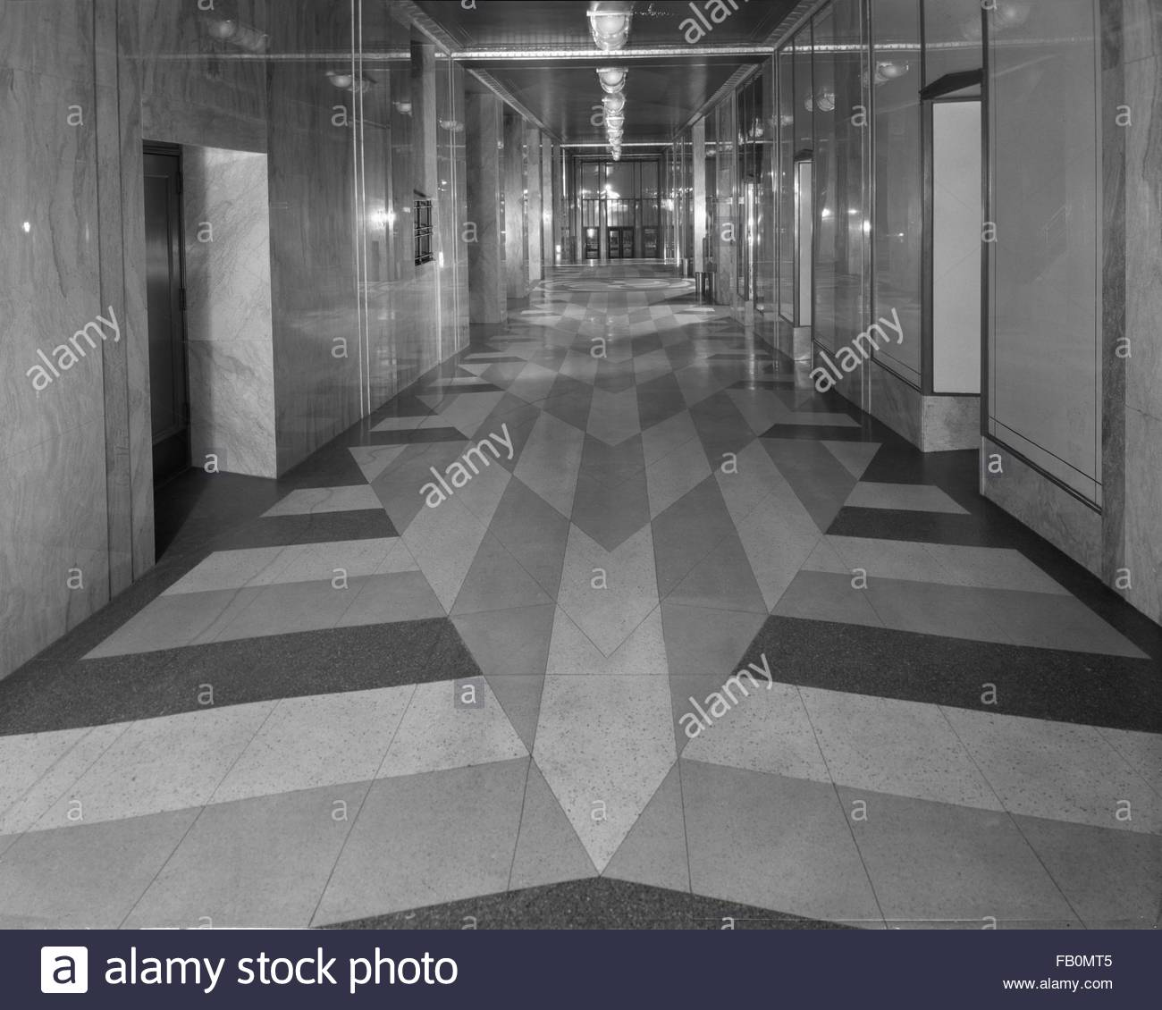 Tile And Terrazzo Flooring And Hallways Hallways In