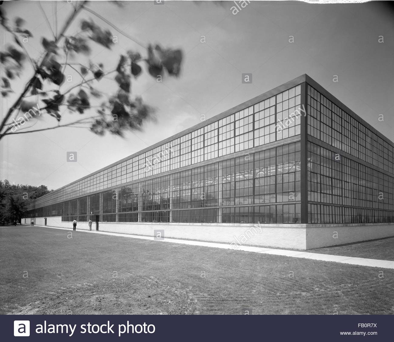 Diesel plant in Detroit (Mich.), 1938 July 12. - Stock Image