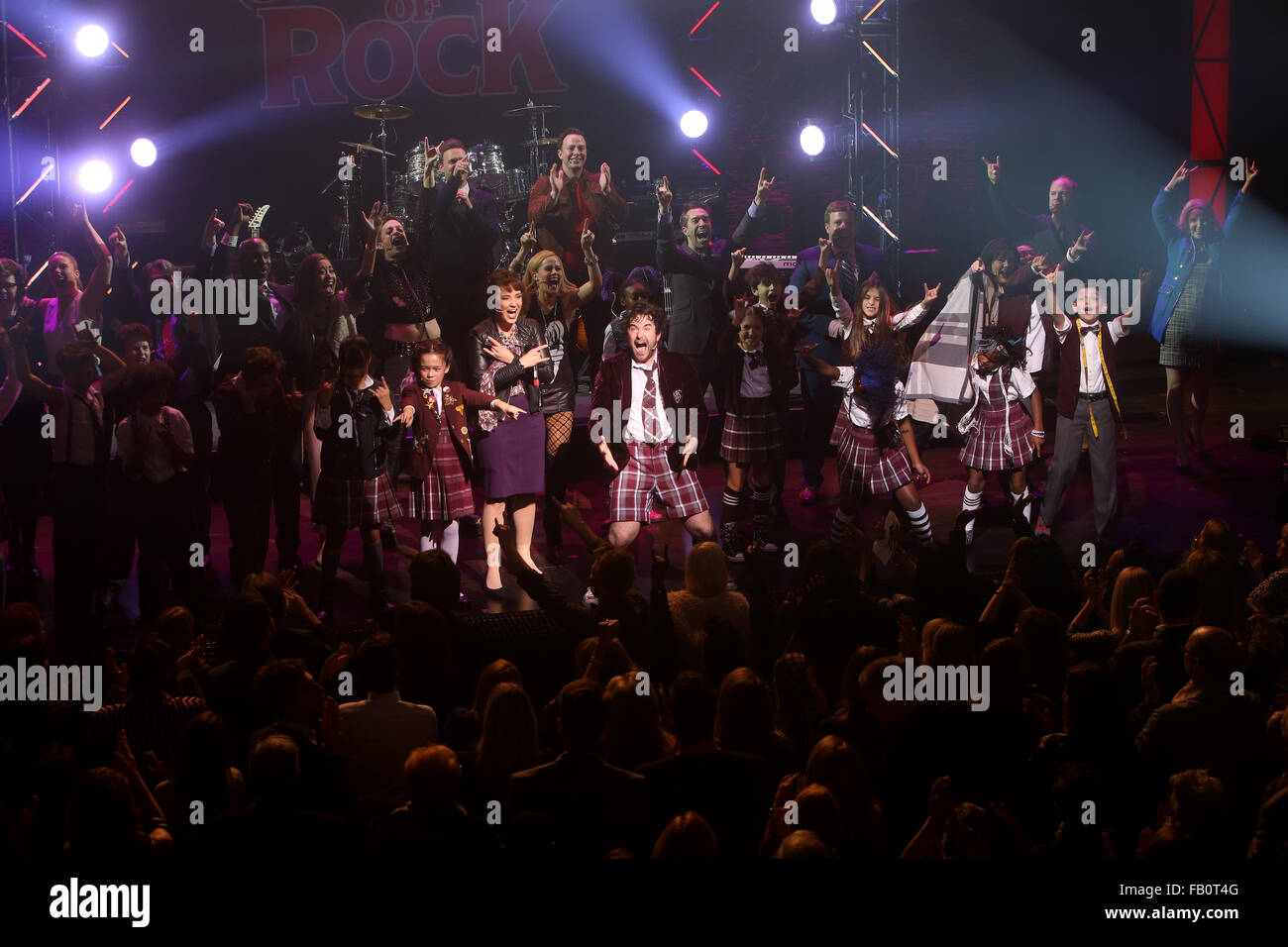 Opening Night For Broadway Musical School Of Rock At The Winter