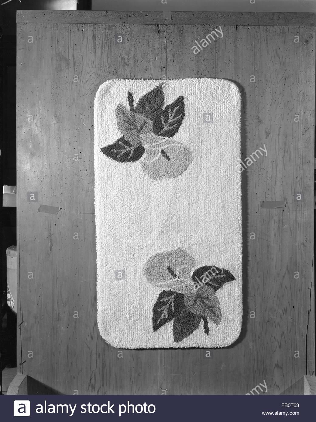 Carpets at Marshall Field and Company, 1941 Jan. 4. - Stock Image