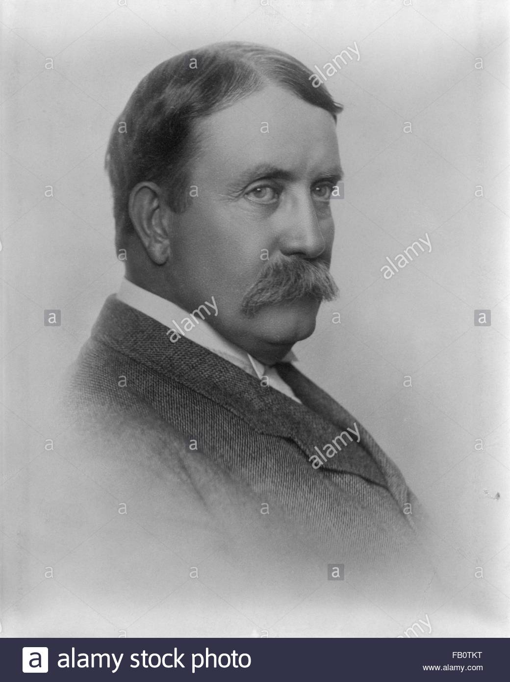 Daniel H. Burnham portrait photograph, 1941 Aug. 28. - Stock Image