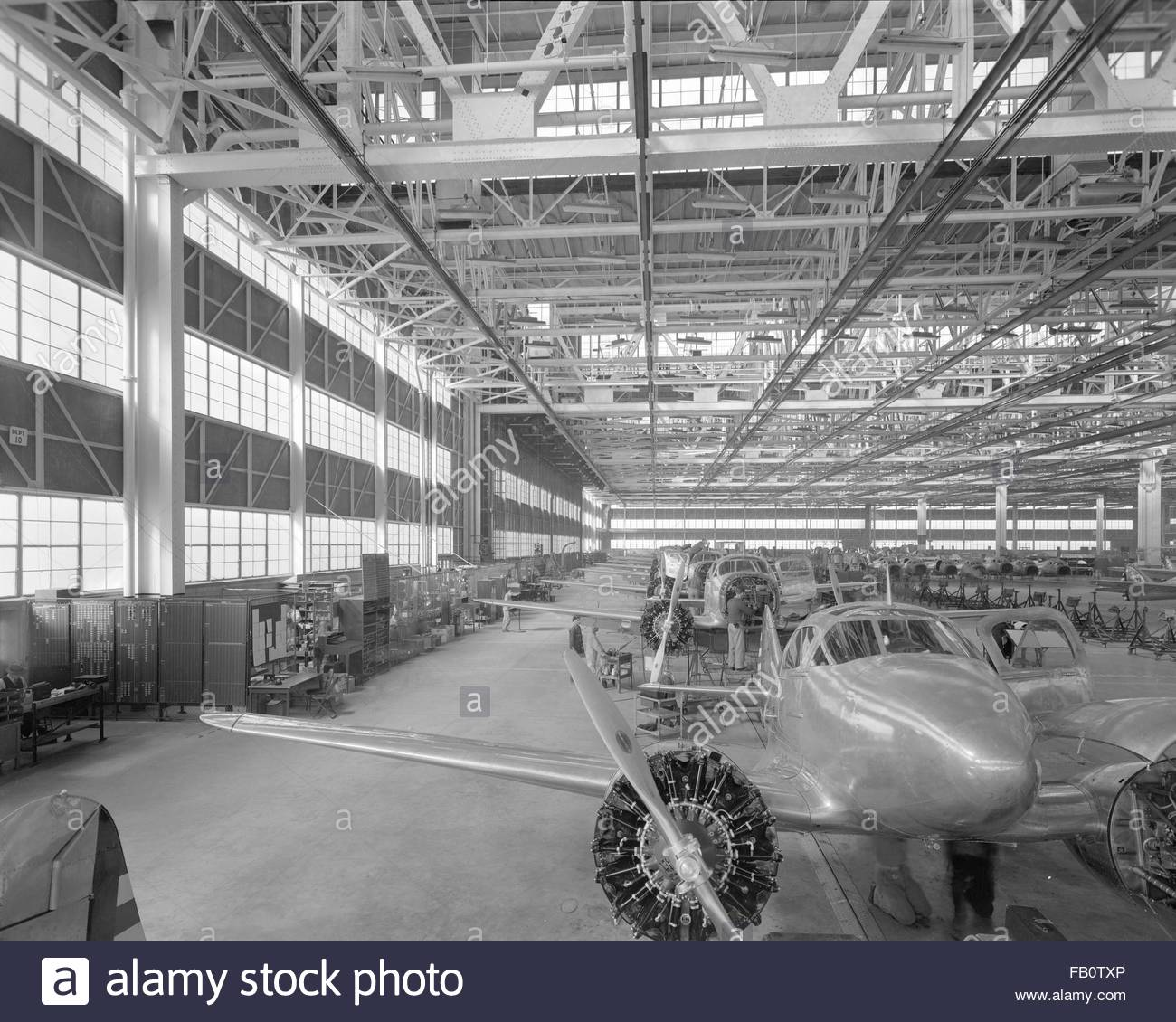 Curtis Wright Airplane Factory Stock Photos Amp Curtis