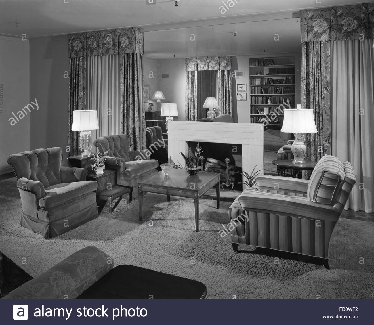 Trend House at Marshall Field and Company, 1942 Sept. 28. - Stock Image