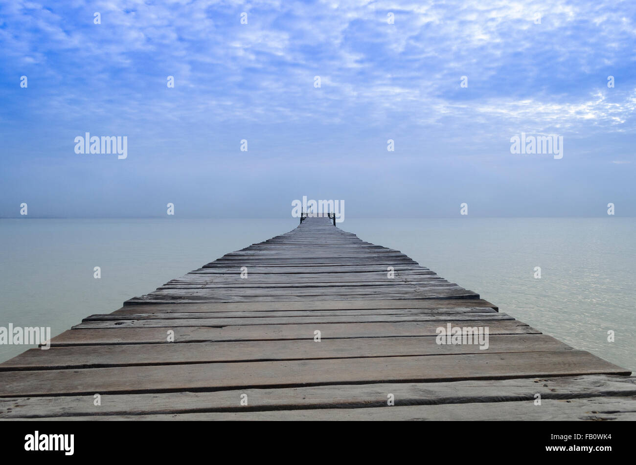 Road to infinity - Stock Image