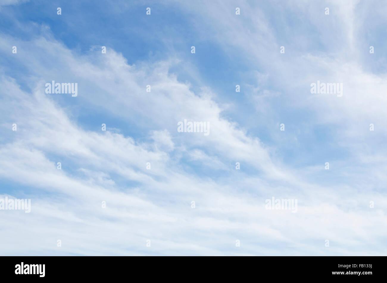 Scenic cloudscape - Stock Image