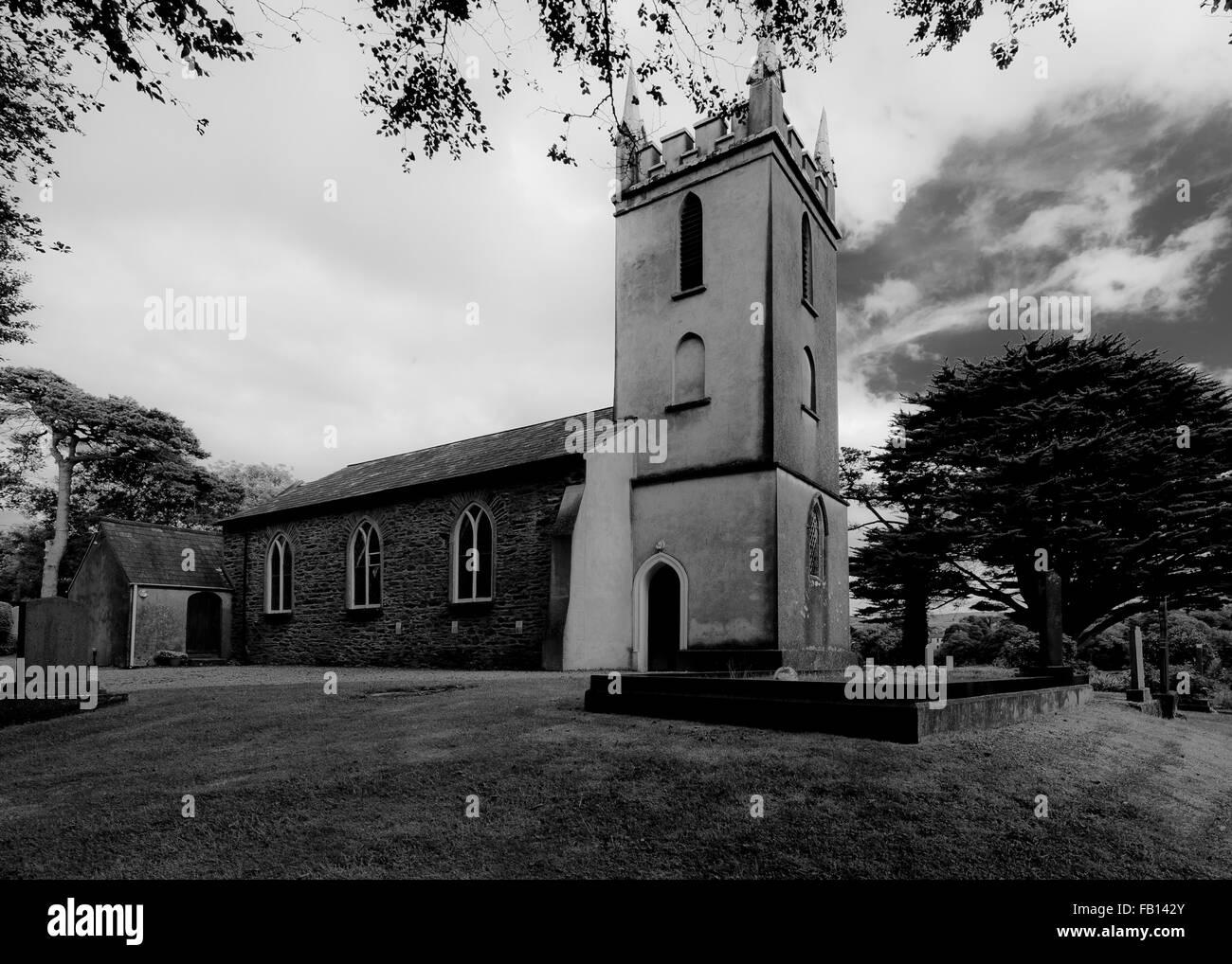 St. James Church, Durrus, West Cork, Ireland. - Stock Image