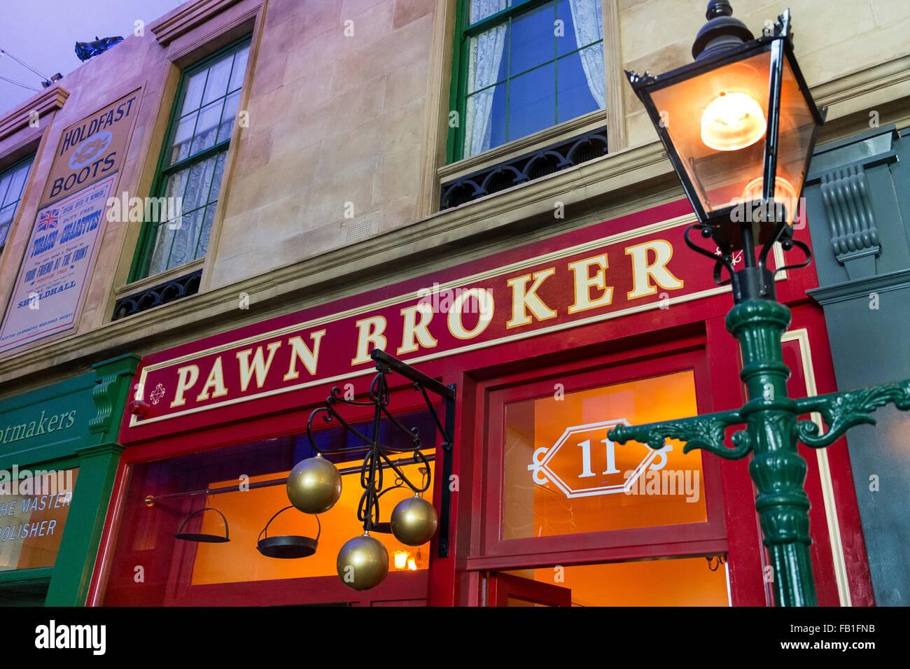 pawn broker - Stock Image