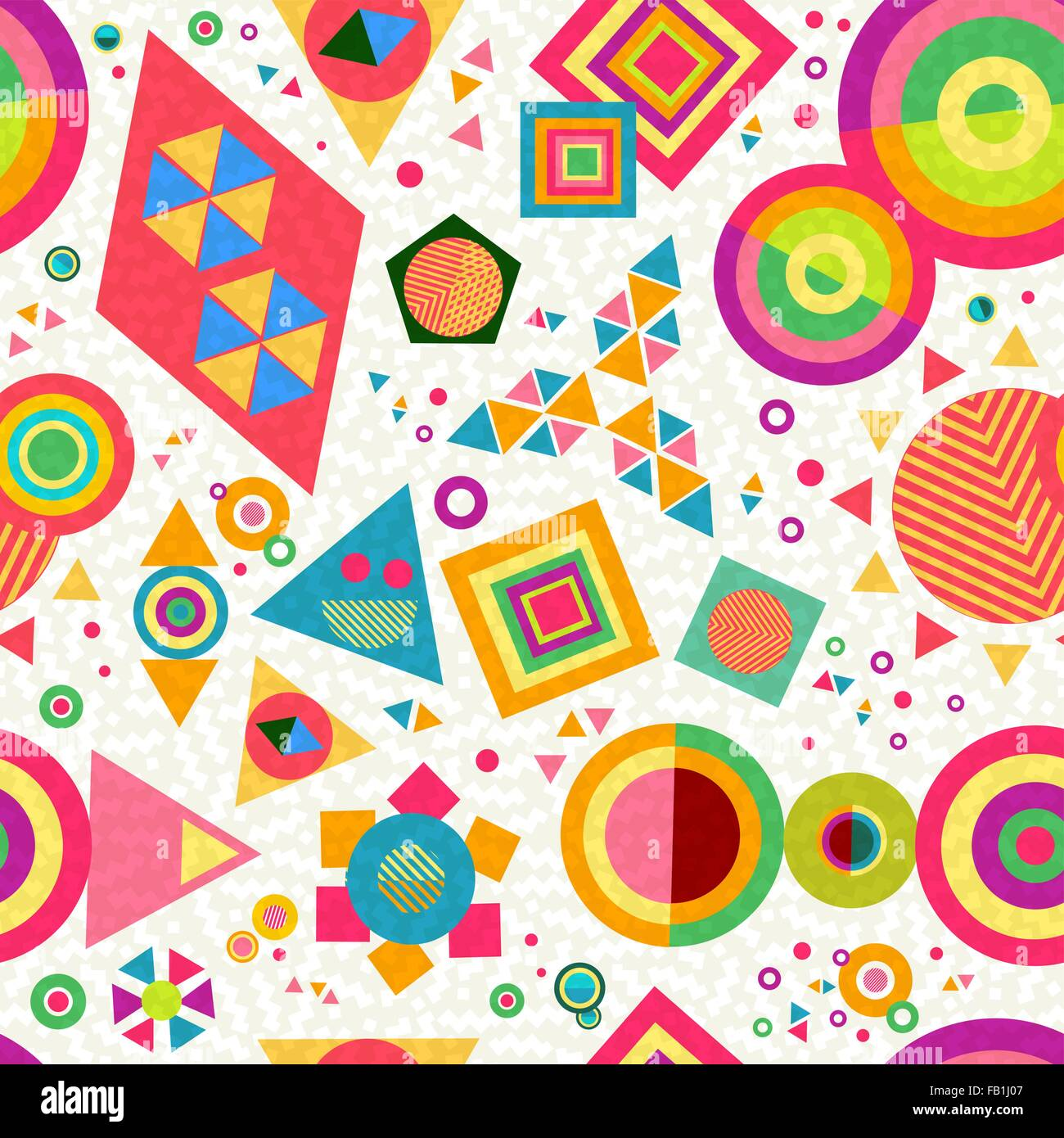Seamless Pattern Background With Geometric Shapes And