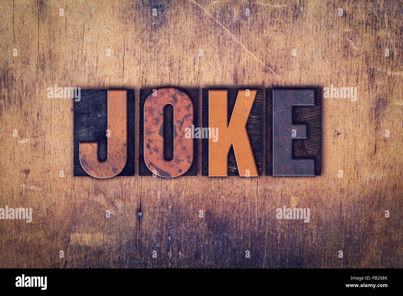Wood jokes dirty