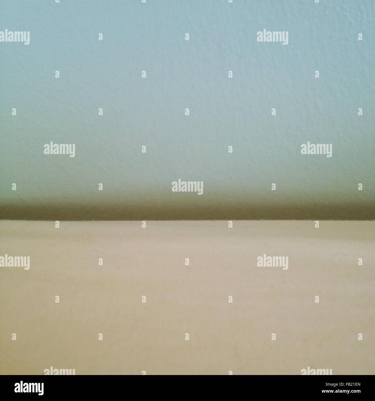 minimalist beach landscape - Stock Image