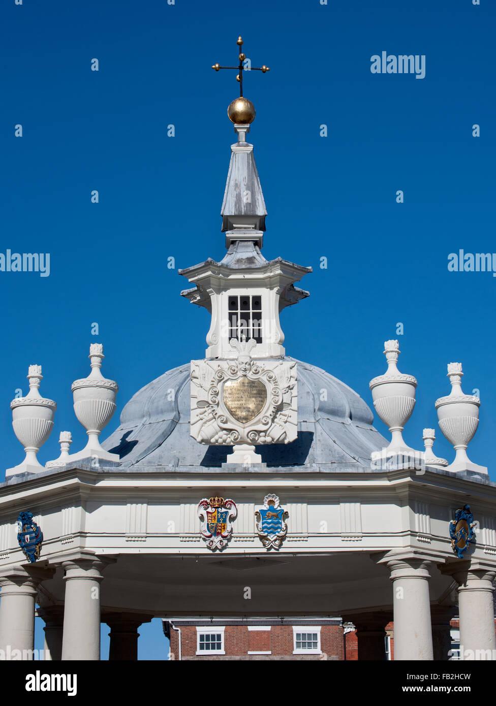 Beverley Bandstand, Market Place, Beverley, Yorkshire, England, UK. - Stock Image