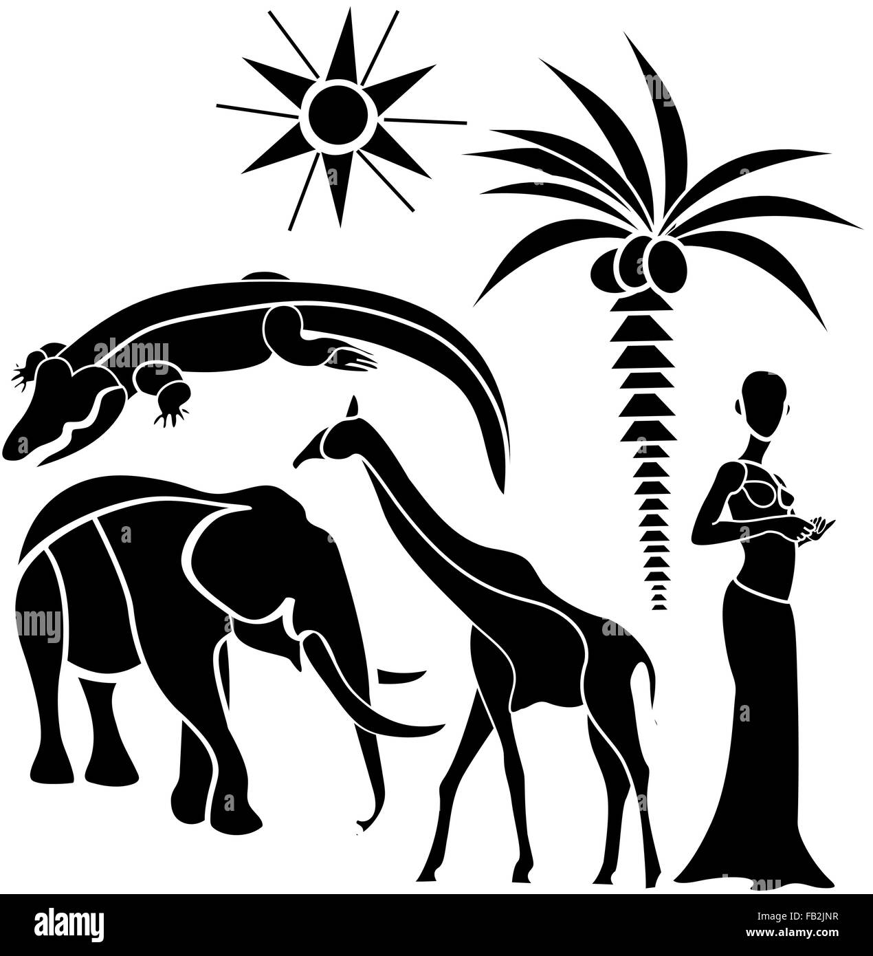 Pattern background african africa culture art traditional indigenous