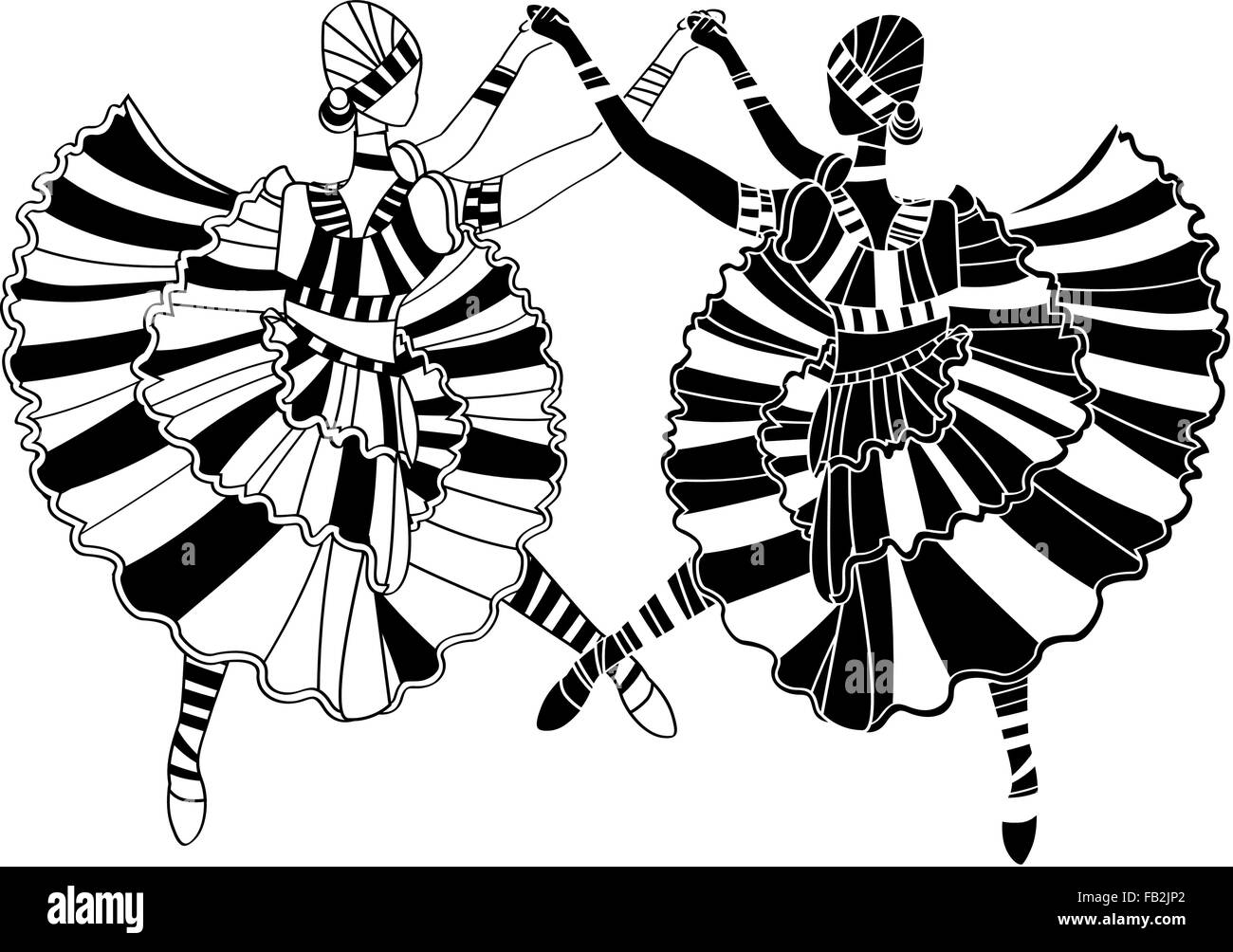 zulu dancer coloring pages - photo#14