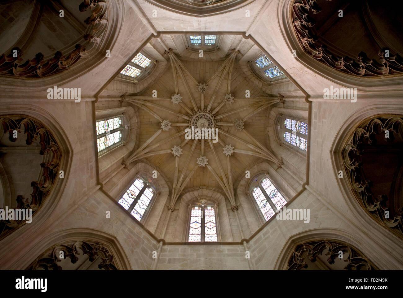 Batalha, Kathedrale Santa Maria da Vitoria - Stock Image