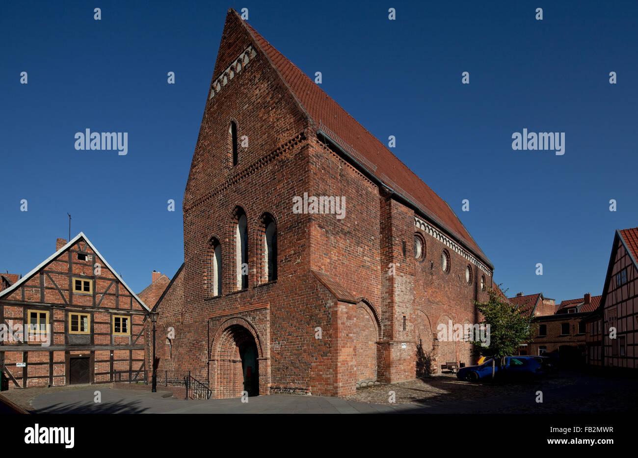 Salzwedel, Lorenzkirche - Stock Image