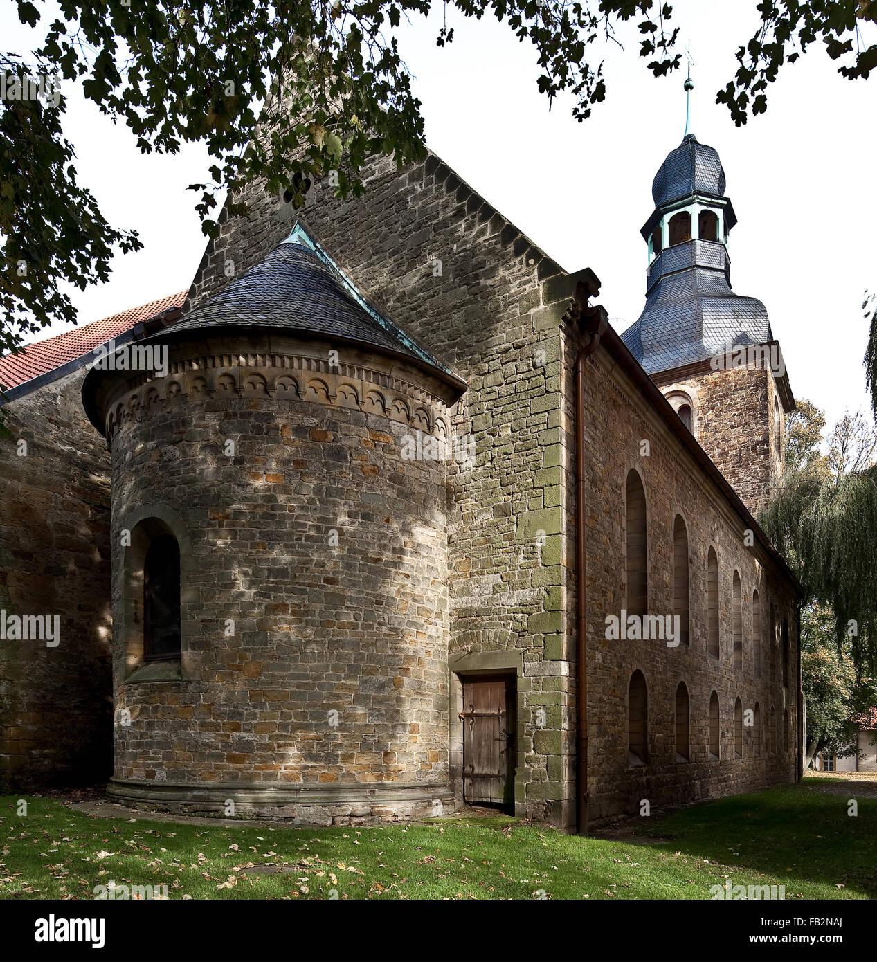 Marienborn bei Helmstedt, ehemaliges Kloster - Stock Image