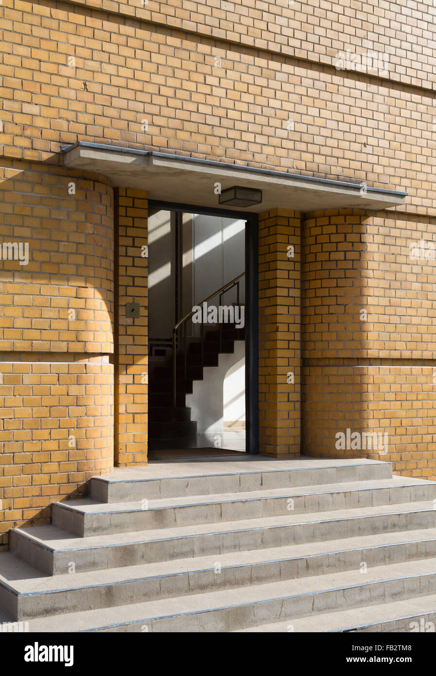 Alfeld, Schuhleistenfabrik Fagus Werke - Stock Image
