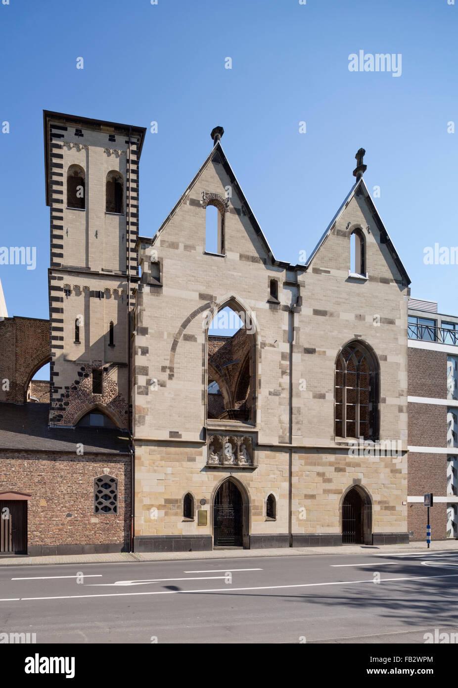 Köln, Alt St. Alban - Stock Image