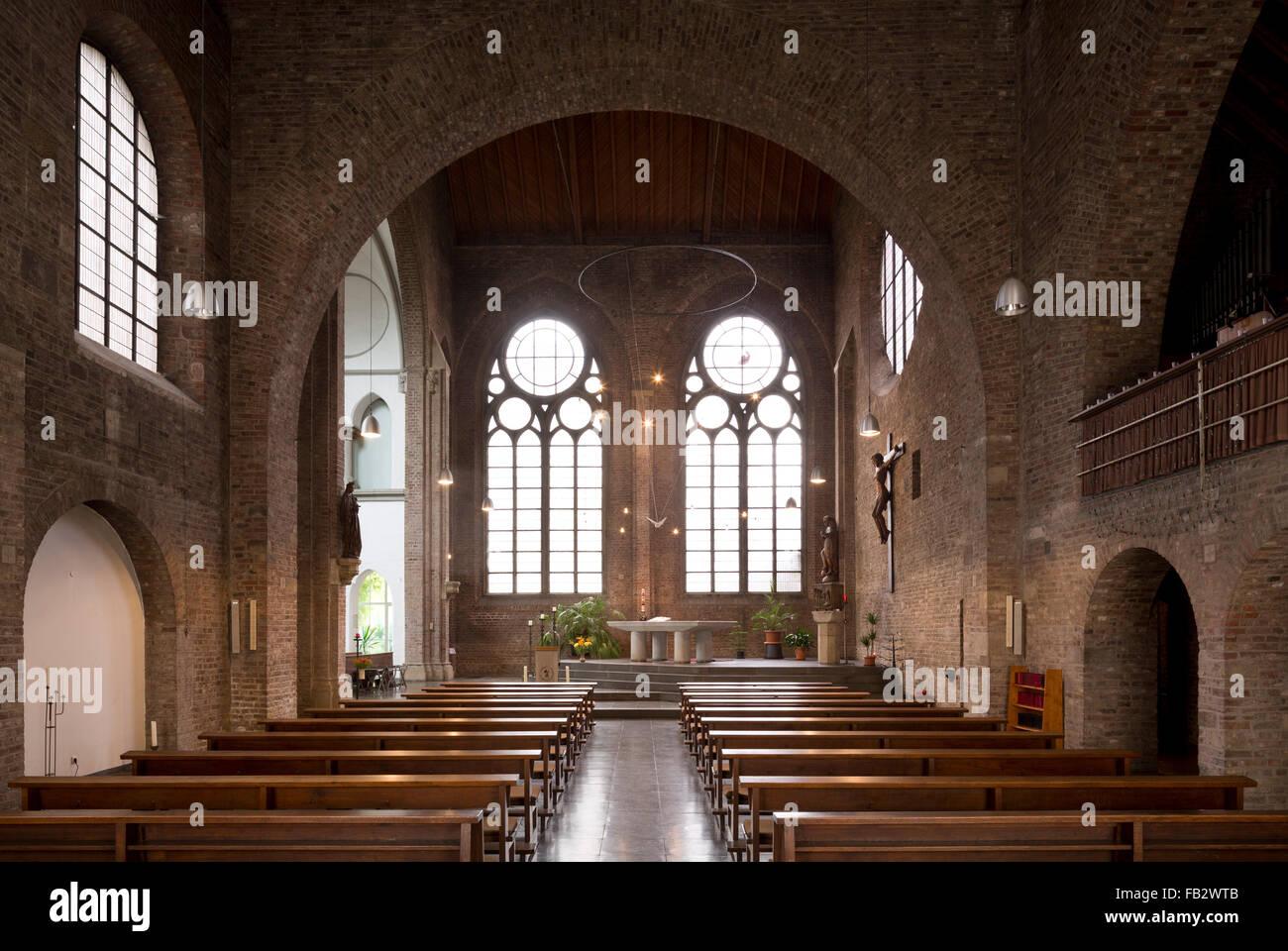 Köln, Franziskanerkirche St. Marien (Zum unbefleckten Herzen Mariens) - Stock Image