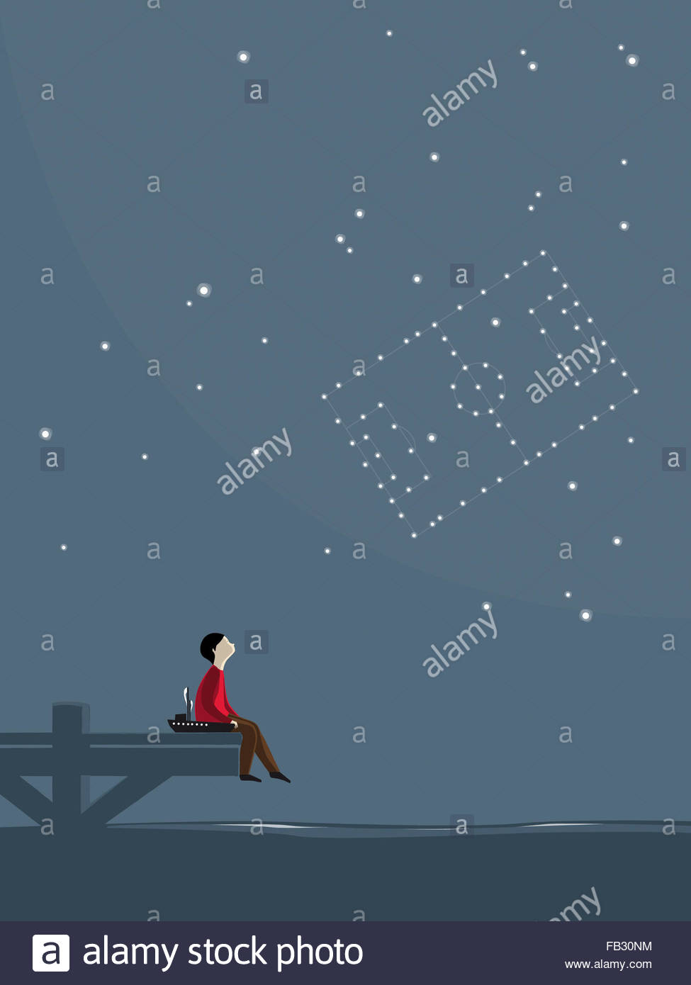 Watching Stars Stock Photos & Watching Stars Stock Images