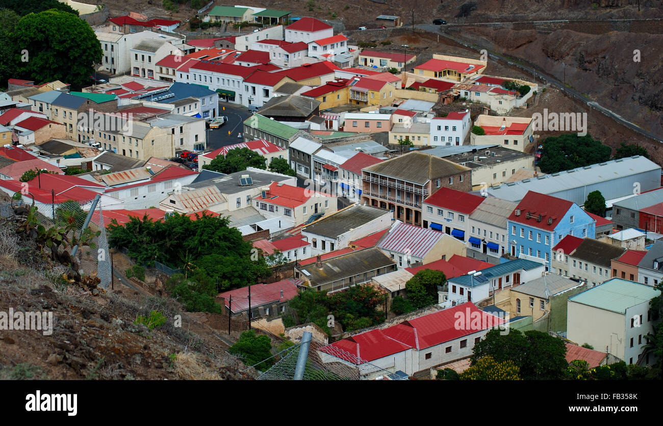 Where Is St Helena Island In The South Atlantic