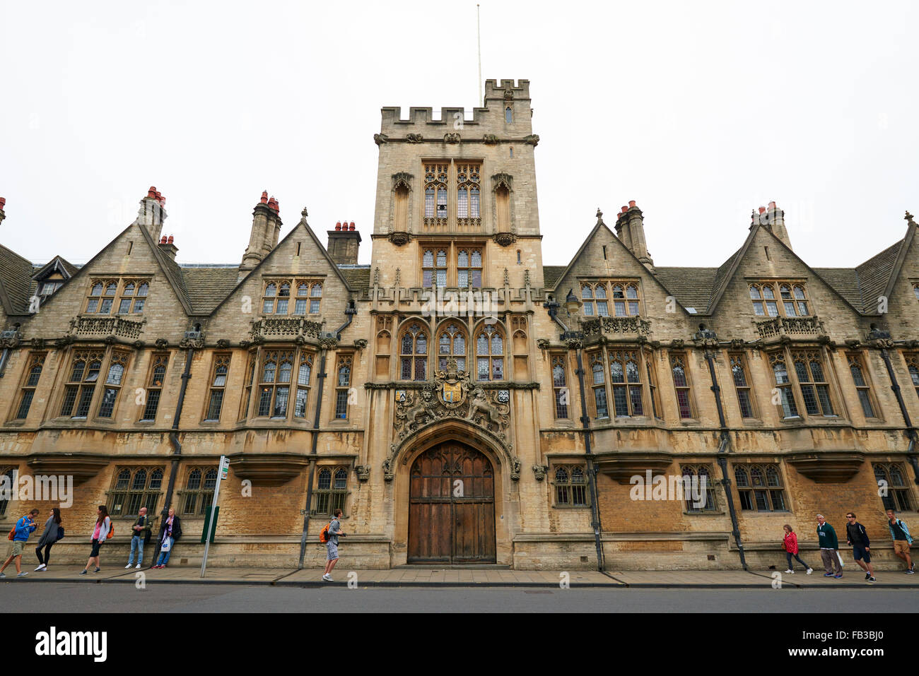 Brasenose College, High Street, Oxford, Oxfordshire, Great Britain, Europe - Stock Image