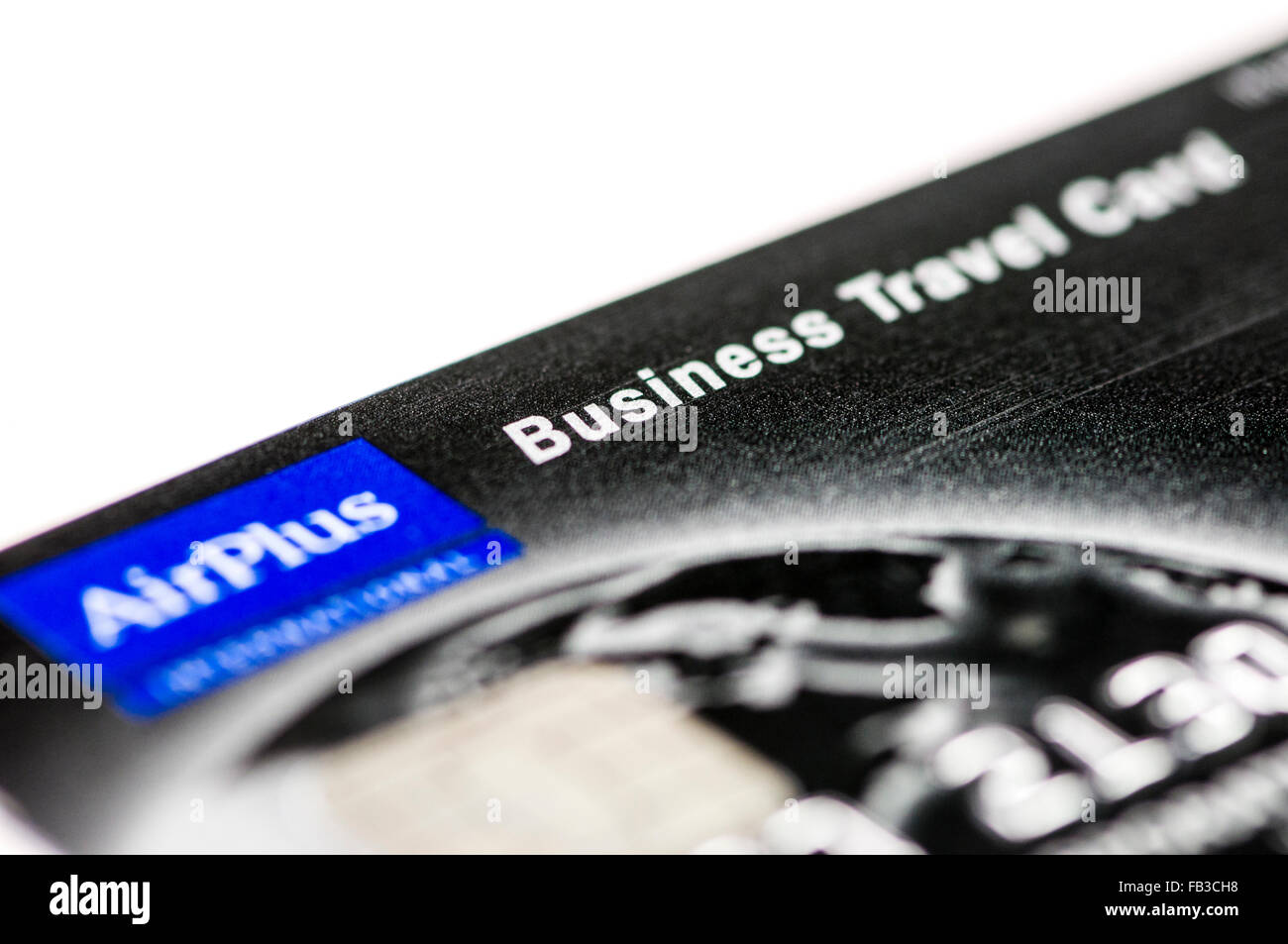 Airplus Business Travel credit card for expenses Stock Photo ...