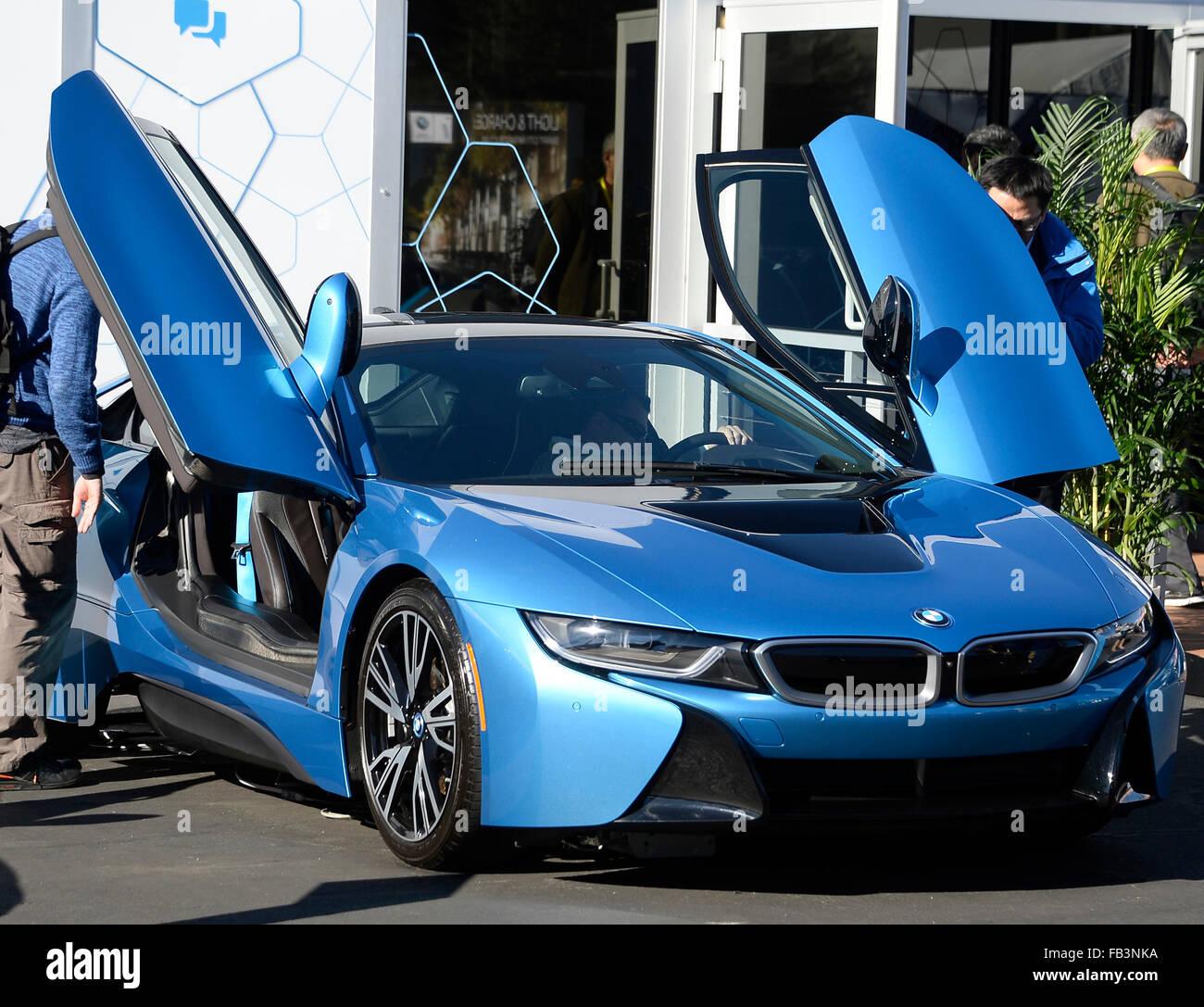 BMW Las Vegas >> Las Vegas Nv Usa 8th Jan 2016 Bmw I8 Car On Display During The
