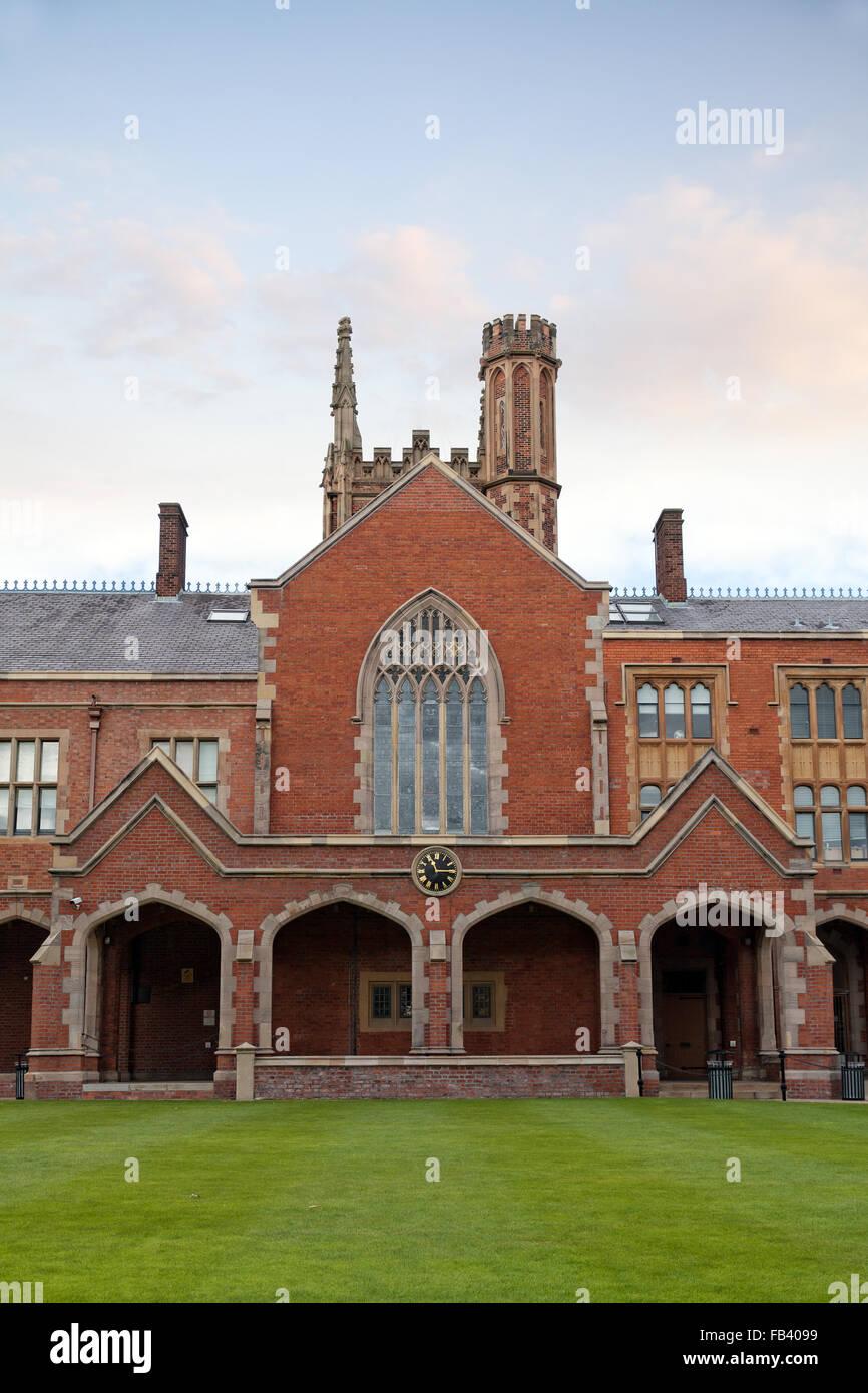Queen's University, Belfast, Northern Ireland - Stock Image
