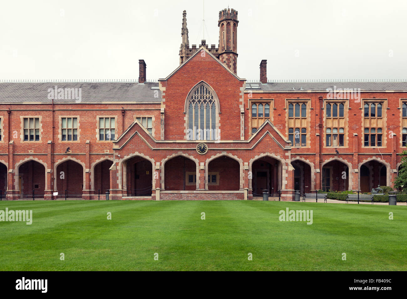 Queen's University in Belfast, Northern Ireland Stock Photo