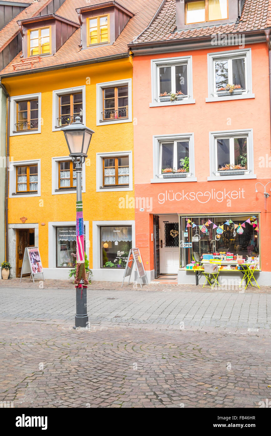 glückseligkeit, shop in the historic part of konstanz, selling local and regional products, konstanz, baden-wuerttemberg, Stock Photo
