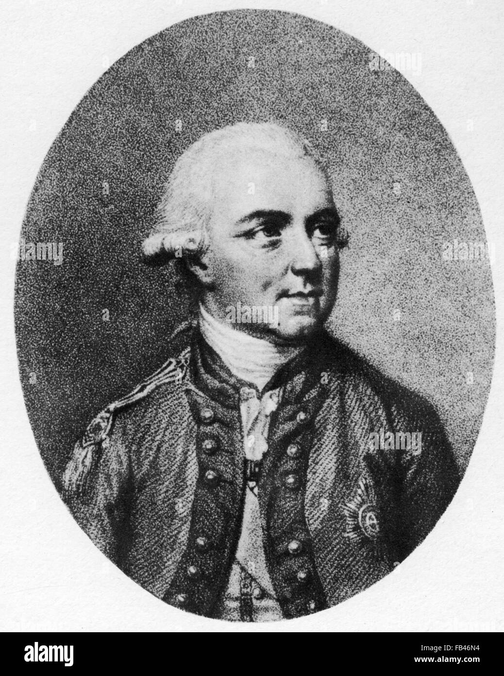 HENRY CLINTON  (1730-1795) British Army officer during the American War of Independence Stock Photo