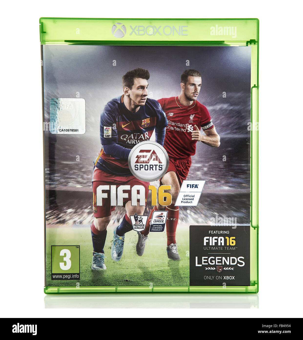 FIFA 2016 by EA Sports for the XBox One Console - Stock Image