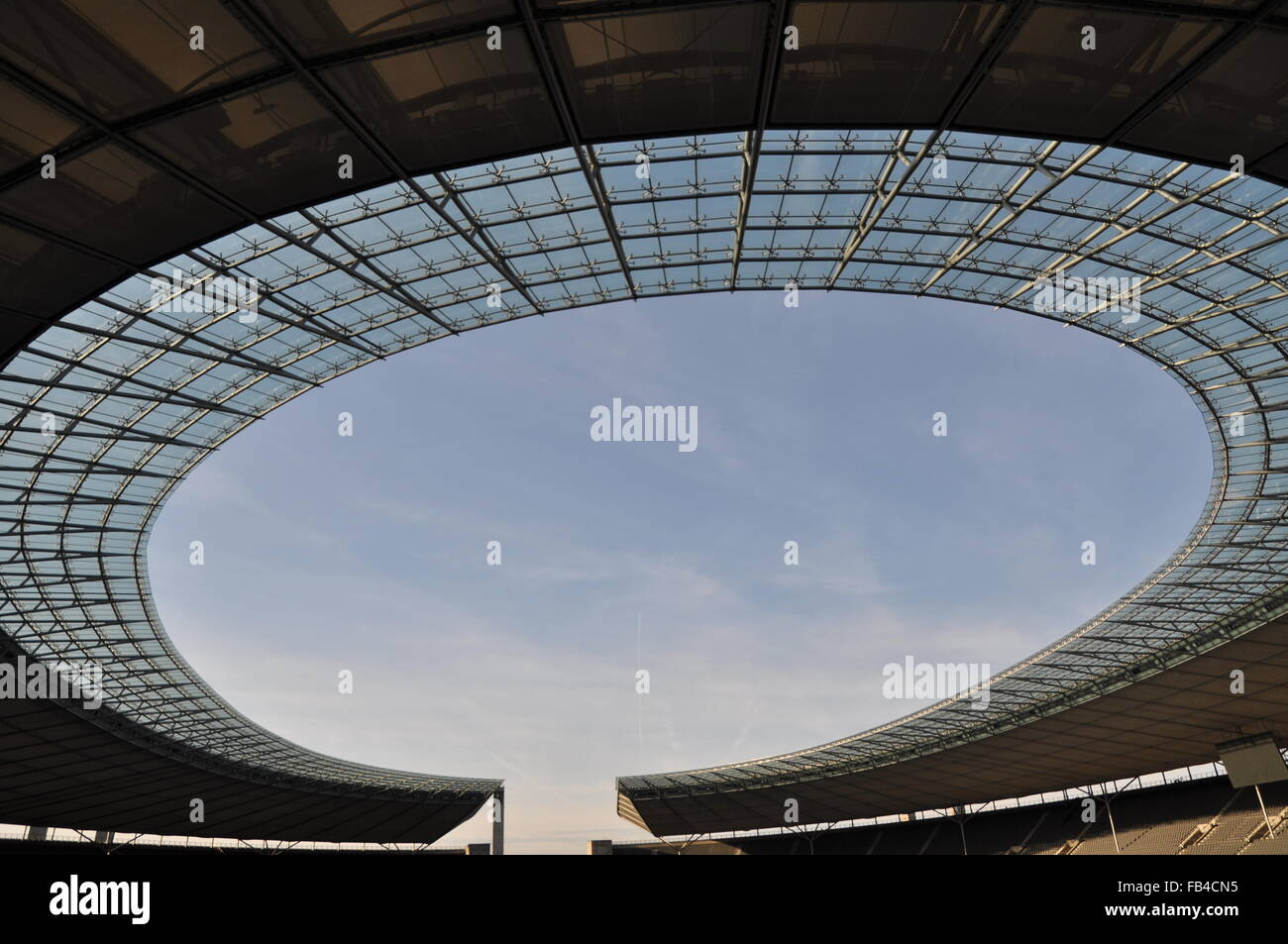 Berlin, Olympia Stadion - Stock Image