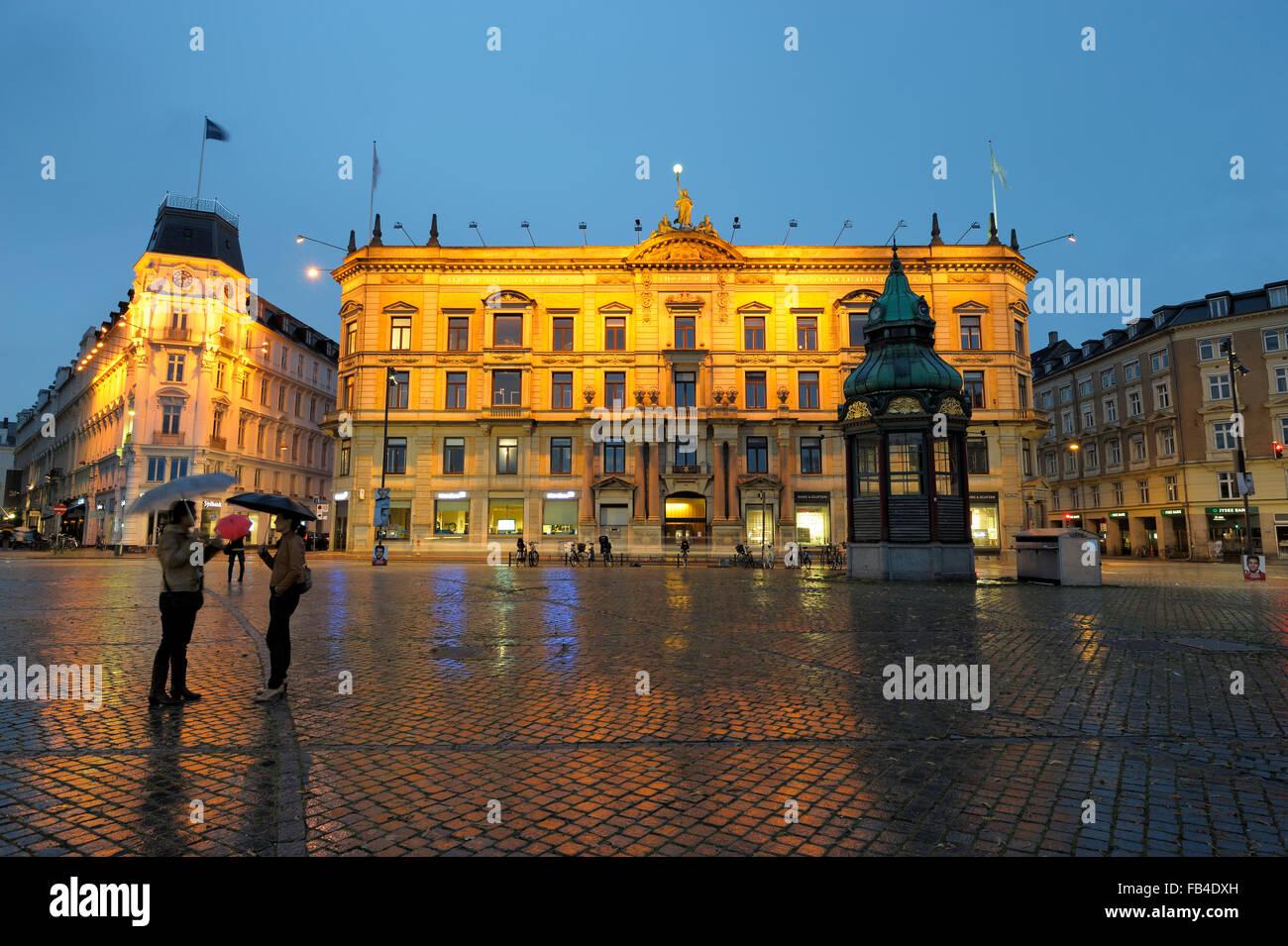 Nyhavn, Kobenhavn, Sjaelland (Zealand), Region Hovedstaden, Denmark - Stock Image