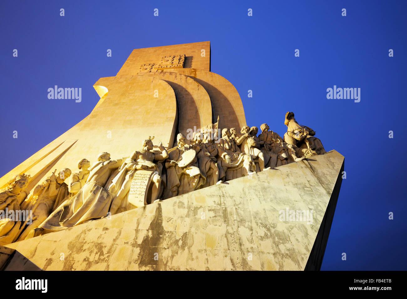 Padrao dos Descobrimentos (Monument to the Discoveries), Belem, Lisboa, Estremadura, Portugal - Stock Image